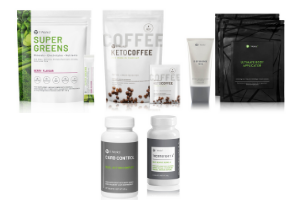 Thermofight + Super Green + Keto Coffee + Carb control + Wrap + defining gel