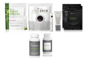 Thermofight + Super Green + SKNY + Carb control + Wrap + defining gel