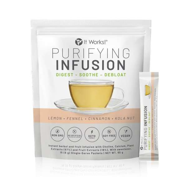 Purifying infusion it works