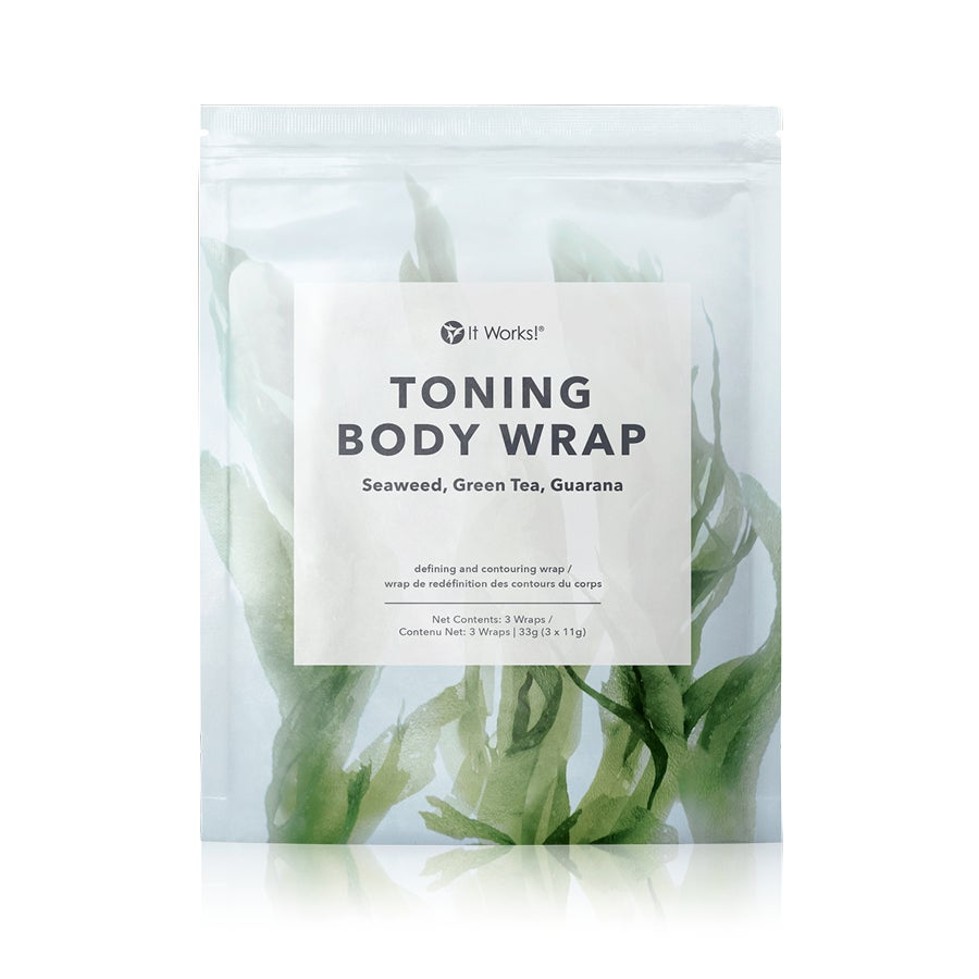 Toning body wrap
